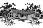 Country Ranch Enjoys Outdoor Living Spaces