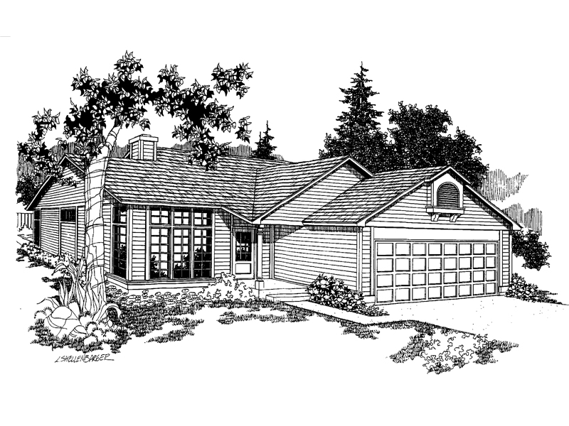 Traditional House Plan Front of Home - 085D-0224 | House Plans and More
