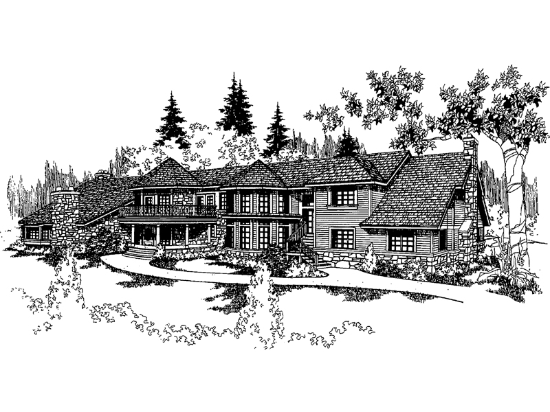 Craftsman House Plan Front of Home - 085D-0226 | House Plans and More