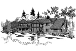 Contemporary House Plan Front of Home - 085D-0226 | House Plans and More