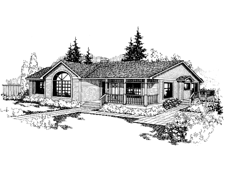 Contemporary House Plan Front of Home - 085D-0234 | House Plans and More