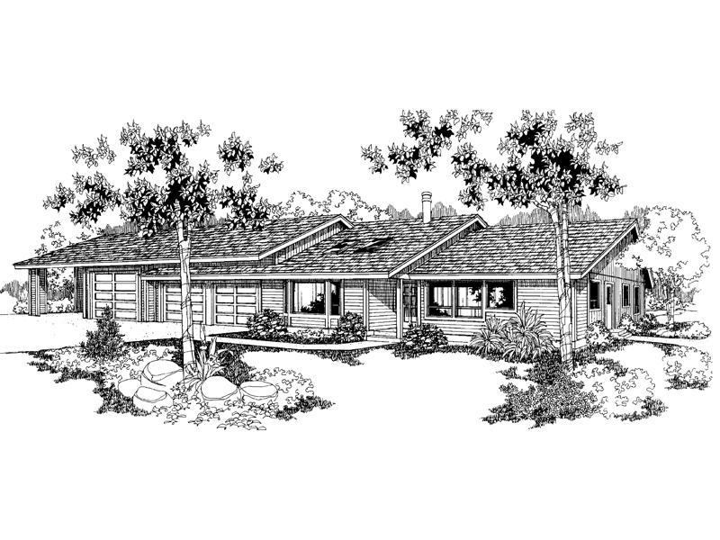 Country House Plan Front of Home - 085D-0248 | House Plans and More