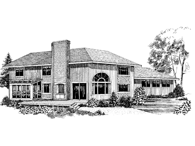 European House Plan Front of Home - 085D-0272 | House Plans and More