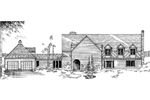 Country French House Plan Front of Home - 085D-0281 | House Plans and More