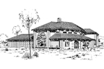 Florida House Plan Front of Home - 085D-0309 | House Plans and More
