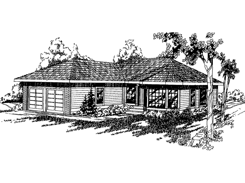 Traditional House Plan Front of Home - 085D-0365 | House Plans and More