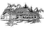 Country House Plan Front of Home - 085D-0367 | House Plans and More
