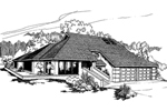 European House Plan Front of Home - 085D-0374 | House Plans and More