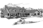 Contemporary House Plan Front of Home - 085D-0377 | House Plans and More