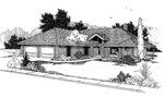 European House Plan Front of Home - 085D-0381 | House Plans and More