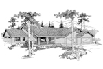 Traditional House Plan Front of Home - 085D-0384 | House Plans and More