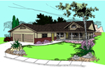 Country House Plan Front of Home - 085D-0387 | House Plans and More