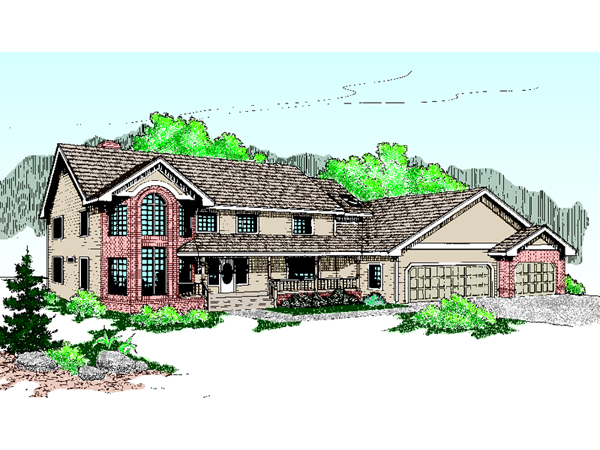 Eberlin Luxury Ranch Home Plan 085d 0449 House Plans And