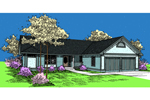 Traditional Ranch Style With Two-Car Garage