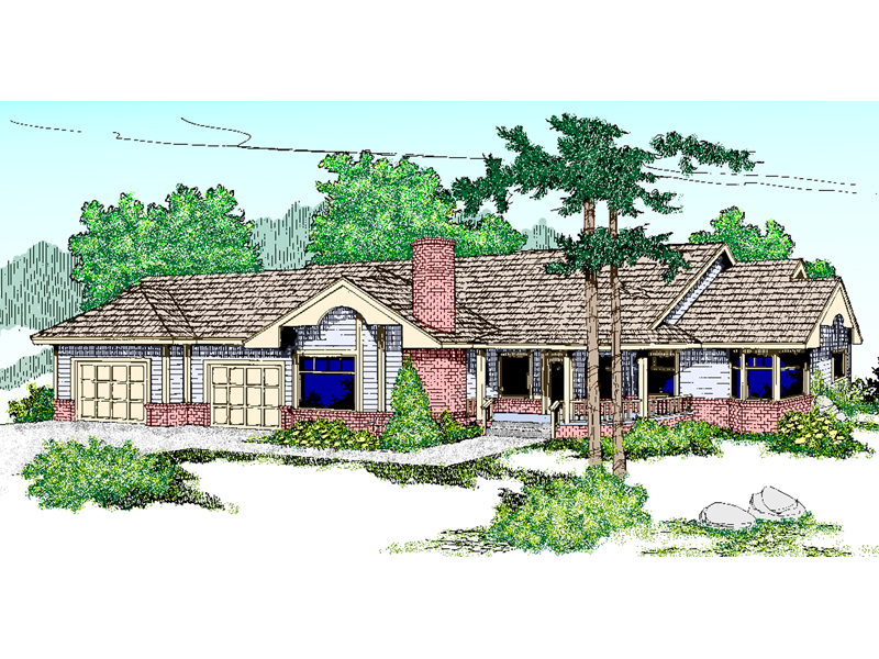 Traditional House Plan Front of Home - 085D-0463 | House Plans and More