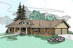 Traditional House Plan Front of Home - 085D-0472 | House Plans and More