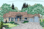 Contemporary House Plan Front of Home - 085D-0478 | House Plans and More