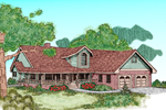 Luxury House Plan Front of Home - 085D-0482 | House Plans and More