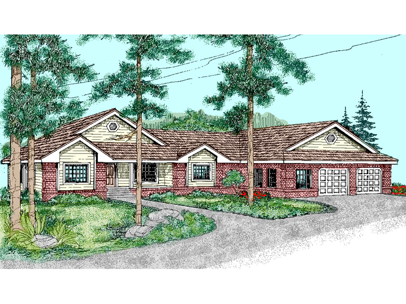 Traditional House Plan Front of Home - 085D-0485 | House Plans and More