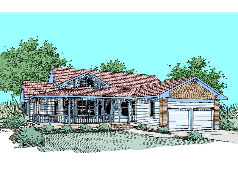 Traditional House Plan Front of Home - 085D-0494 | House Plans and More