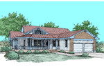 Country House Plan Front of Home - 085D-0494 | House Plans and More