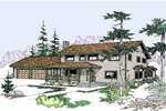 Luxury House Plan Front of Home - 085D-0498 | House Plans and More