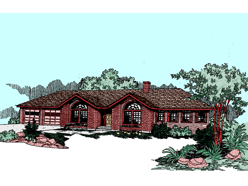 Traditional House Plan Front of Home - 085D-0501 | House Plans and More