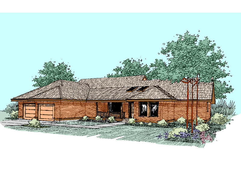 Traditional House Plan Front of Home - 085D-0509 | House Plans and More