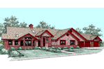 Traditional House Plan Front of Home - 085D-0510 | House Plans and More