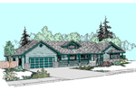 Traditional House Plan Front of Home - 085D-0513 | House Plans and More