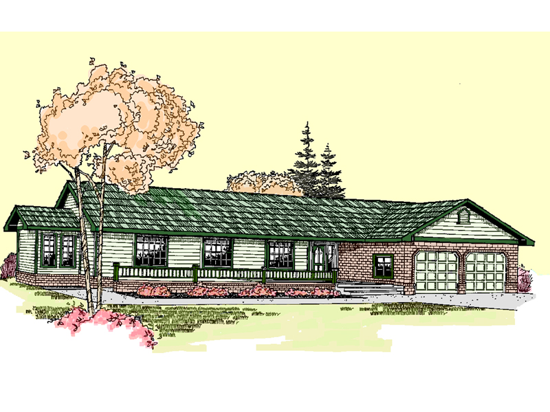 Traditional House Plan Front of Home - 085D-0517 | House Plans and More