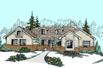 Country House Plan Front of Home - 085D-0524 | House Plans and More