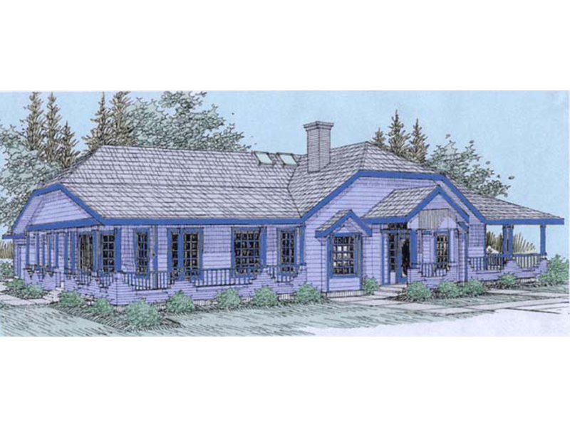 Traditional House Plan Front of Home - 085D-0538 | House Plans and More