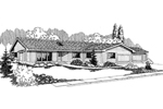 Traditional House Plan Front of Home - 085D-0562 | House Plans and More