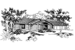Country House Plan Front of Home - 085D-0569 | House Plans and More