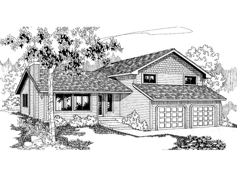 Bright Windows Enhance Traditional Home's Design