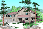 Striking Mountain Design Commands Attention With Its Rustic Feel