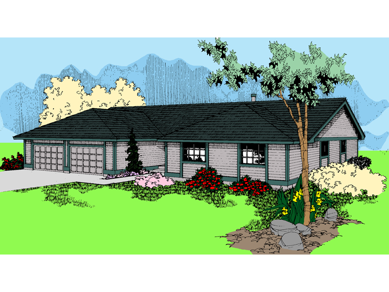 Traditional House Plan Front of Home - 085D-0617 | House Plans and More