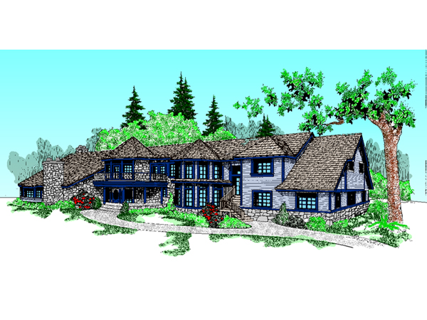 Amici Rustic Luxury Home Plan 085d 0622 House Plans And More