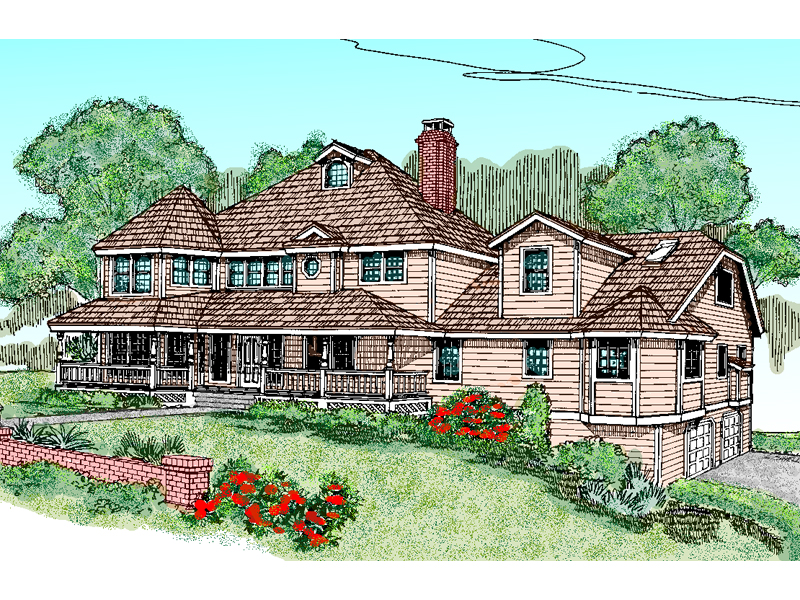 Traditional House Plan Front of Home - 085D-0623 | House Plans and More