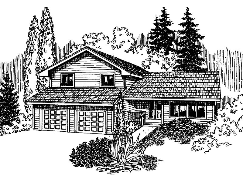 Country House Plan Front of Home - 085D-0632 | House Plans and More