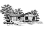 Country House Plan Front of Home - 085D-0639 | House Plans and More