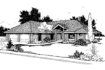 Traditional House Plan Front of Home - 085D-0642 | House Plans and More