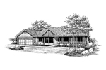 Victorian House Plan Front of Home - 085D-0644 | House Plans and More