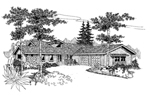 Craftsman House Plan Front of Home - 085D-0648 | House Plans and More