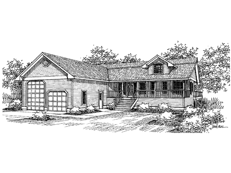 Lowcountry House Plan Front of Home - 085D-0654 | House Plans and More