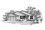 Country House Plan Front of Home - 085D-0656 | House Plans and More