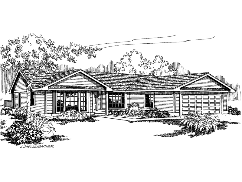 Texhoma Ranch Home Plan 085d 0664 House Plans And More