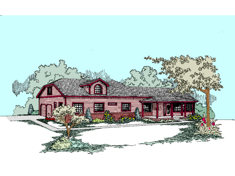 Spacious Two-Story Designed For Country Living
