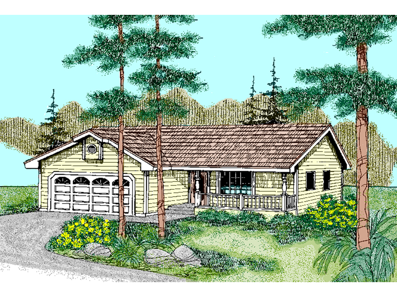 Lafayette place ranch home plan 085d 0746 house plans for House plans lafayette la
